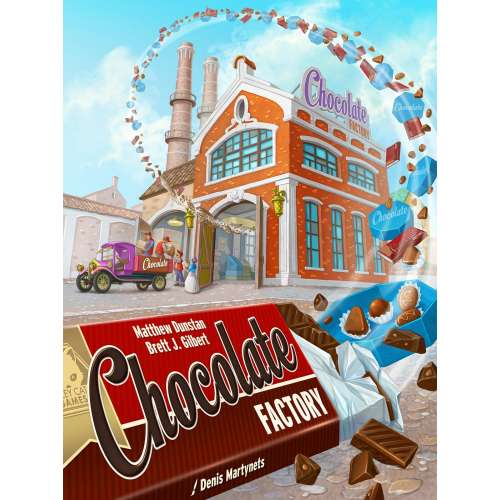 Chocolate Factory - настолна игра