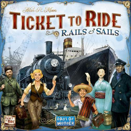 Ticket to Ride: Rails & Sails - настолна игра