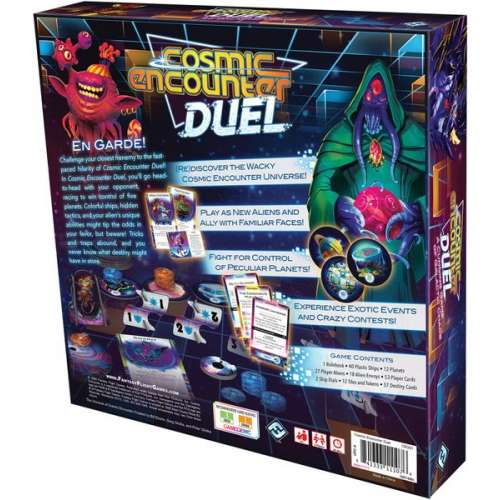 Cosmic Encounter Duel - настолна игра