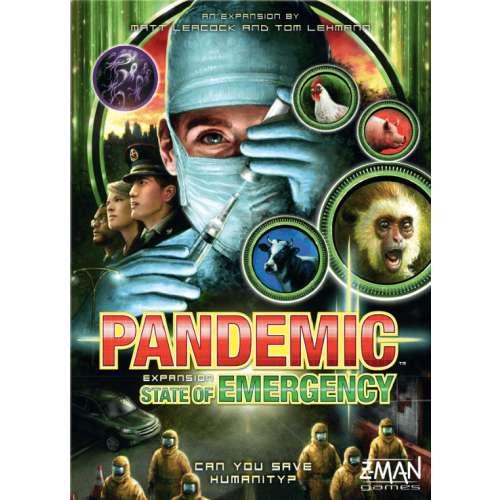 Pandemic: State of Emergency - разширение за настолна игра