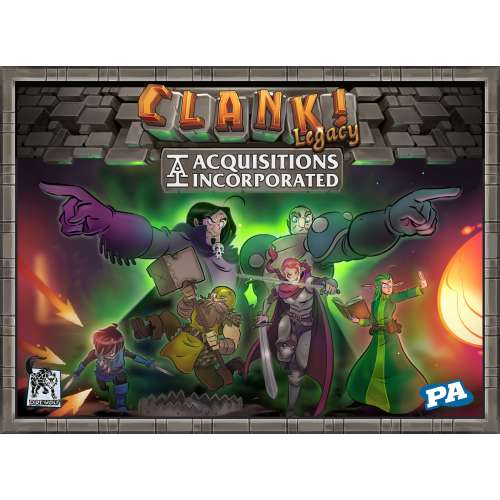 Clank! Legacy: Acquisitions Incorporated - настолна игра