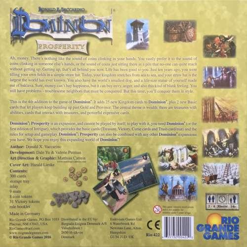 Dominion: Prosperity - разширение за настолна игра