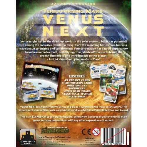 Terraforming Mars: Venus Next - разширение за настолна игра