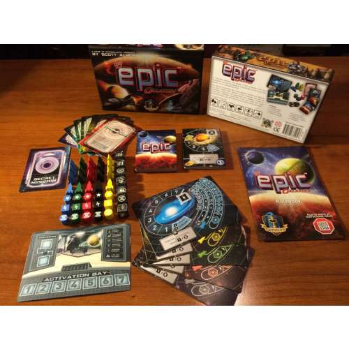 Tiny Epic Galaxies - настолна игра