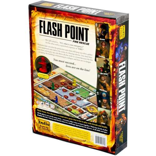 Flash Point: Fire Rescue (Second Edition) - настолна игра