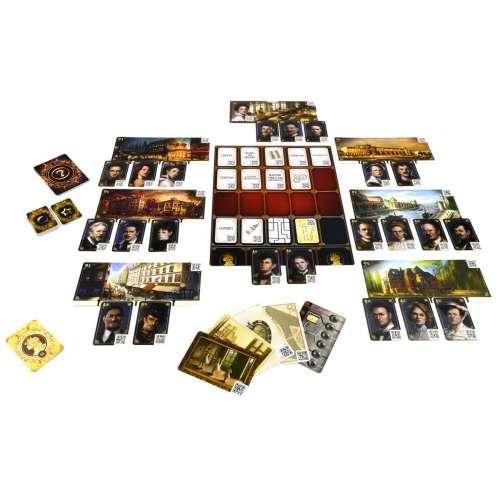 Chronicles of Crime: 1900 - настолна игра