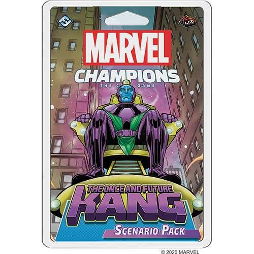 Marvel Champions: The Card Game - The Once and Future Kang Scenario Pack - разширение за настолна игра