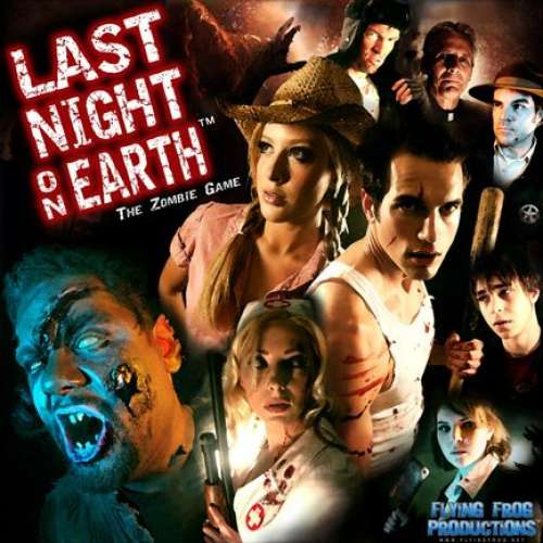 Last Night on Earth: The Zombie Game - настолна игра