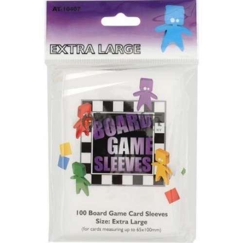 Arcane Tinmen Board Games Sleeves (Clear) - 65 x 100 mm
