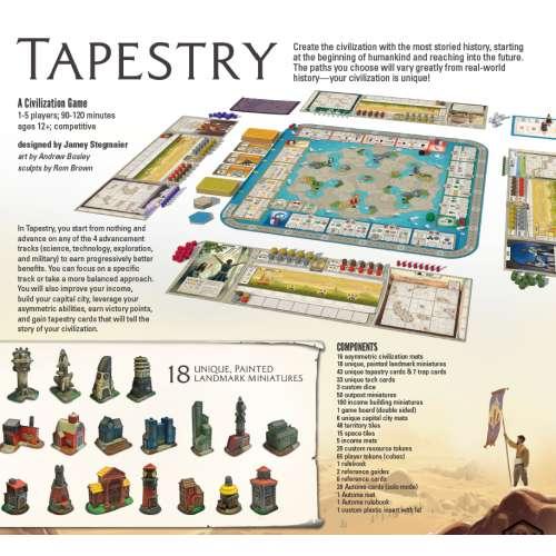 Tapestry - настолна игра