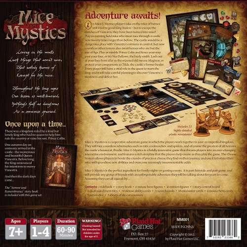 Mice and Mystics - настолна игра