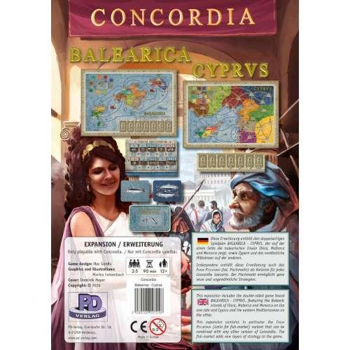 Concordia: Balearica / Cyprus - разширение за настолна игра
