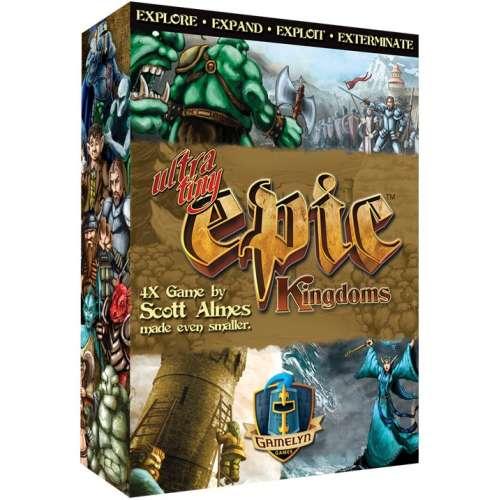 Ultra Tiny Epic Kingdoms - настолна игра