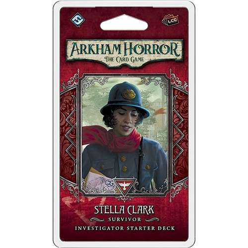 Arkham Horror: The Card Game – Stella Clark: Investigator Starter Deck - разширение за настолна игра
