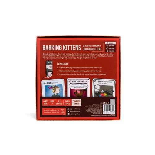 Exploding Kittens: Barking Kittens - разширение за настолна игра