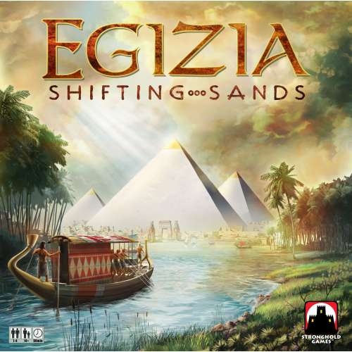 Egizia: Shifting Sands - настолна игра