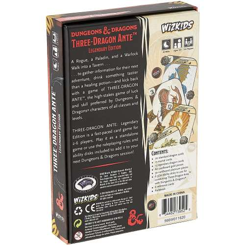 Three-Dragon Ante: Legendary Edition - настолна игра