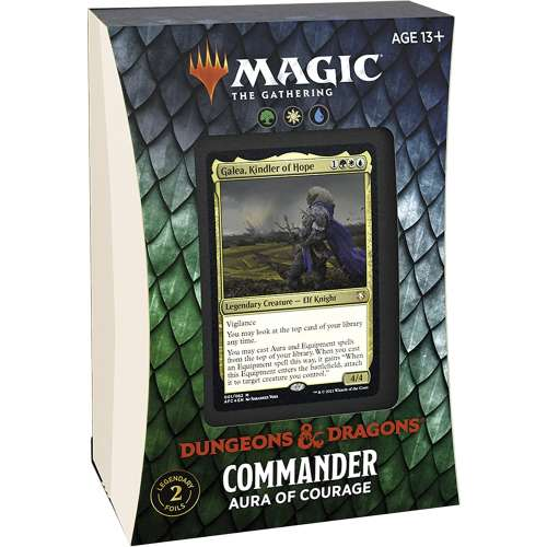 Magic: The Gathering - Adventures in The Forgotten Realms Commander Deck – Aura of Courage