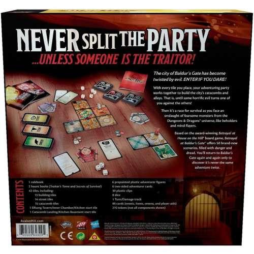 Betrayal at Baldur's Gate - настолна игра
