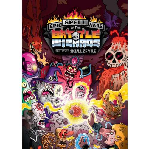 Epic Spell Wars of the Battle Wizards: Duel at Mt. Skullzfyre - настолна игра