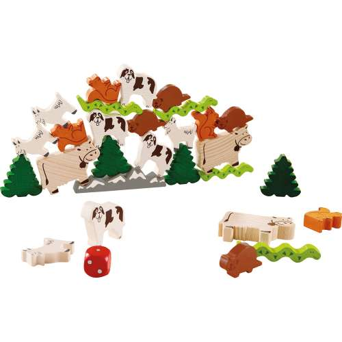 Животно върху животно (домашни животни) - настолна игра