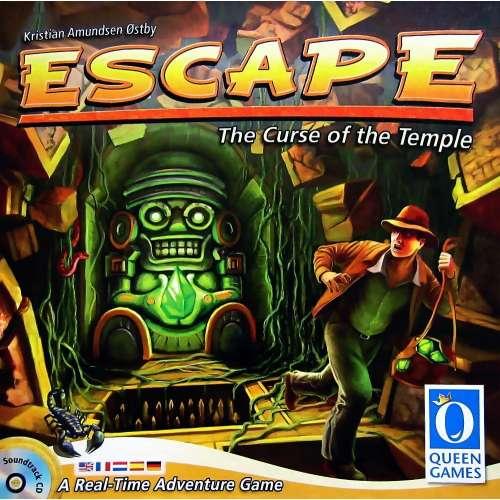 Escape: The Curse of the Temple - настолна игра