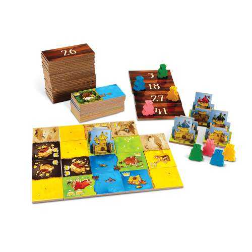Кингдомино (Kingdomino) - настолна игра