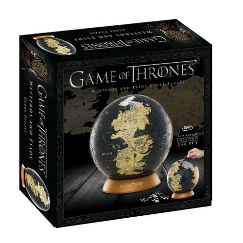 Game of Thrones: The Unknown World 3D Globe (240 Pcs) - пъзел