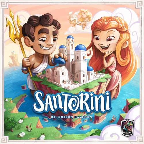 Santorini - настолна игра