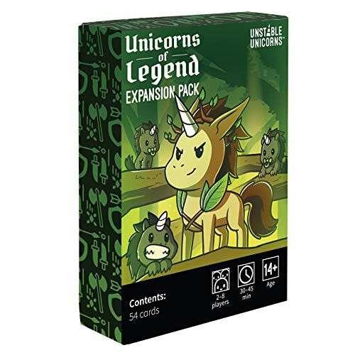 Unstable Unicorns: Unicorns of Legend Expansion Pack - разширение за настолна игра