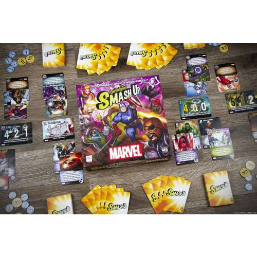 Smash Up: Marvel - настолна игра