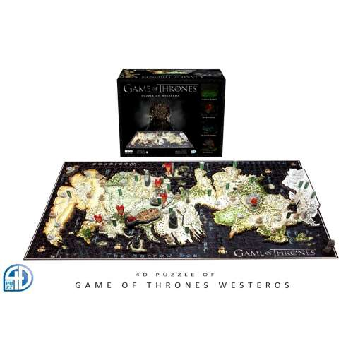 Game of Thrones: 4D Puzzle of Westeros - пъзел
