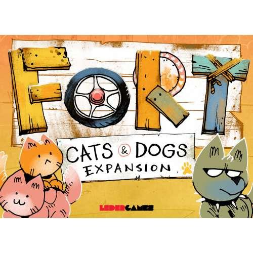 Fort: Cats & Dogs Expansion - разширение за настолна игра