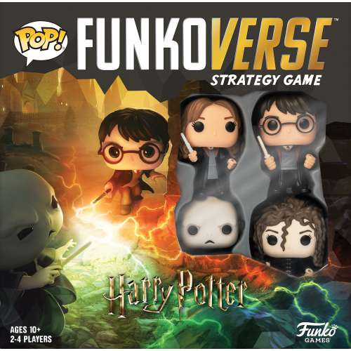 Funkoverse Strategy Game: Harry Potter (4-Pack) - настолна игра