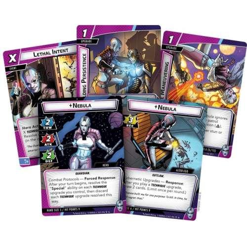 Marvel Champions: The Card Game – Nebula Hero Pack - разширение за настолна игра