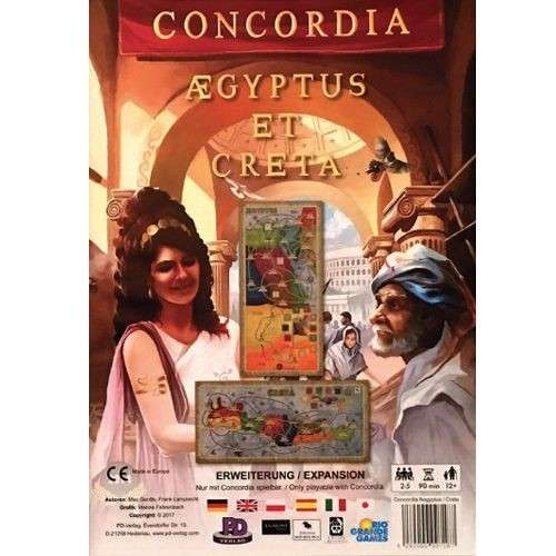 Concordia: Aegyptus / Creta - разширение за настолна игра