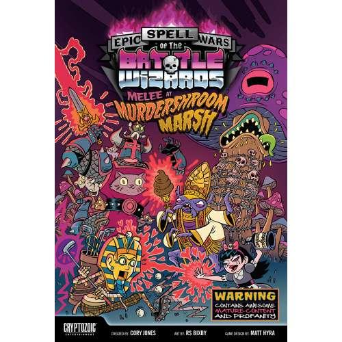 Epic Spell Wars of the Battle Wizards: Melee at Murdershroom Marsh - настолна игра