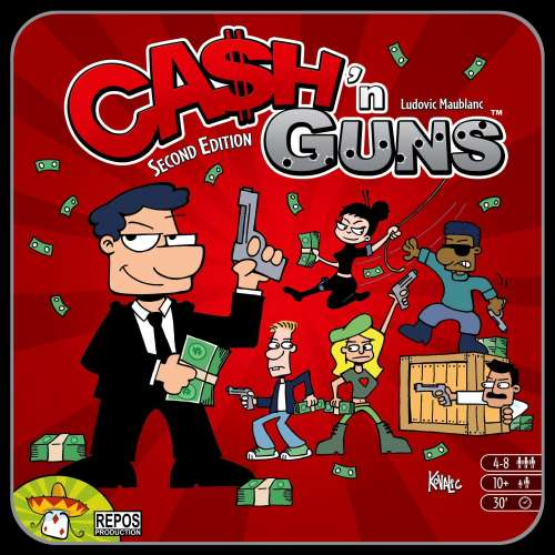 Ca$h 'n Guns (Second Edition) - настолна игра