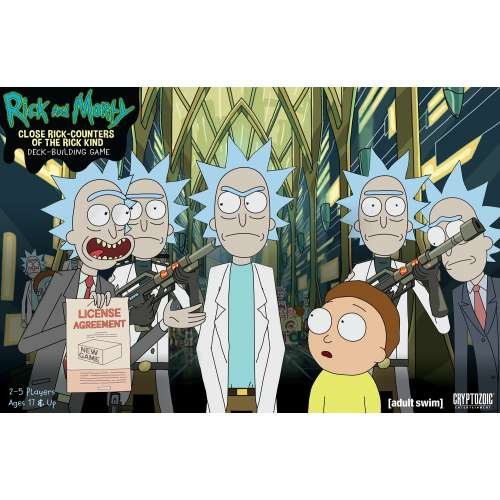 Rick and Morty: Close Rick-Counters of the Rick Kind Deck-Building Game - настолна игра