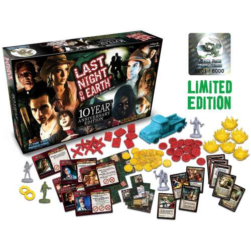 Last Night on Earth: The Zombie Game – 10 Year Anniversary Edition - настолна игра