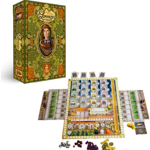 Lorenzo il Magnifico - настолна игра