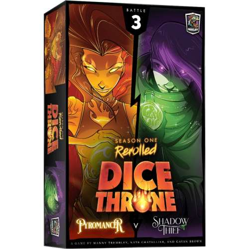 Dice Throne: Season One ReRolled – Pyromancer v. Shadow Thief - настолна игра