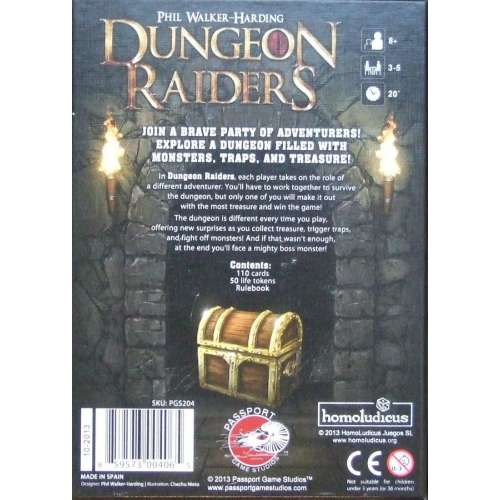 Dungeon Raiders (Second Edition) - настолна игра